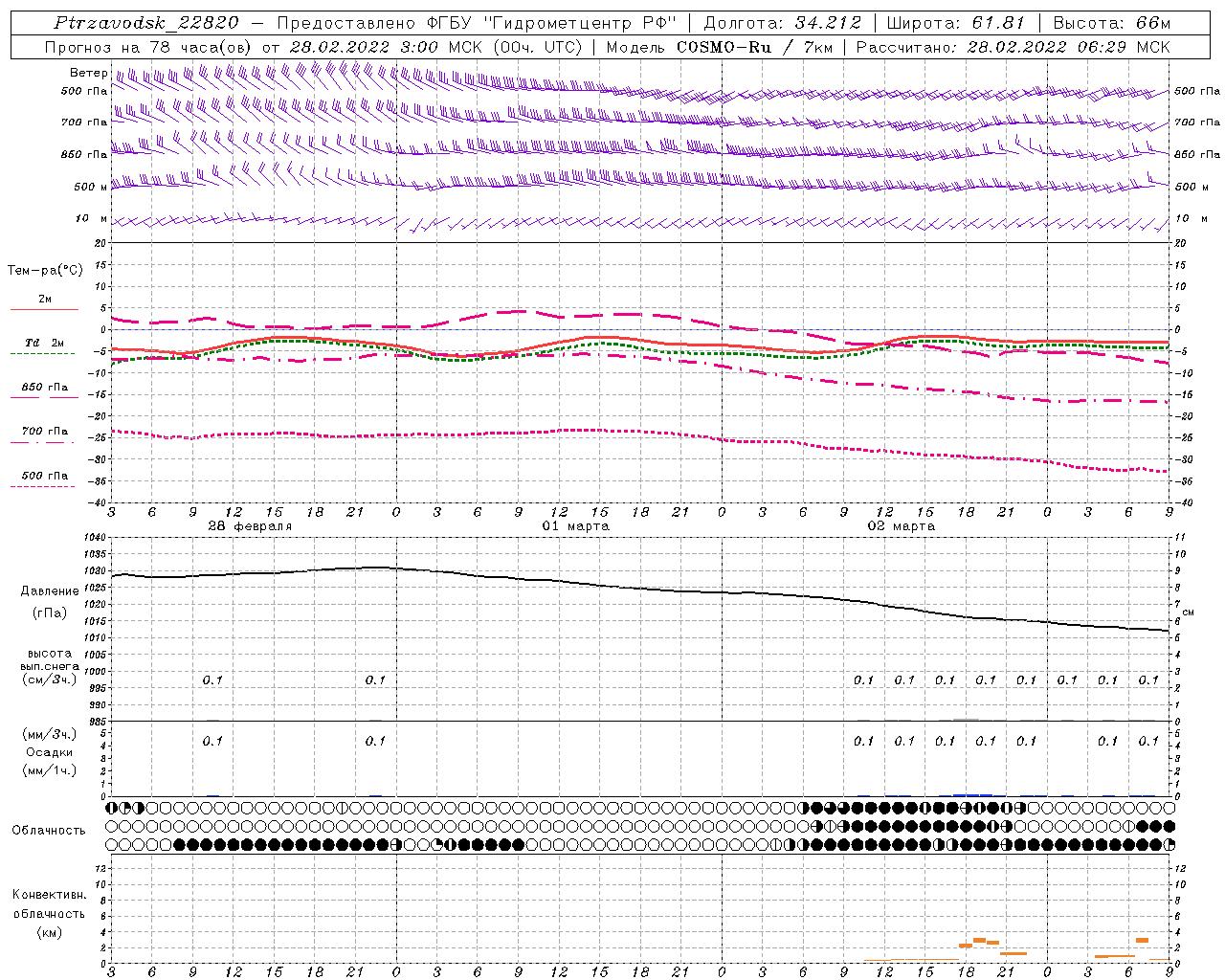 Модель COSMO-RU